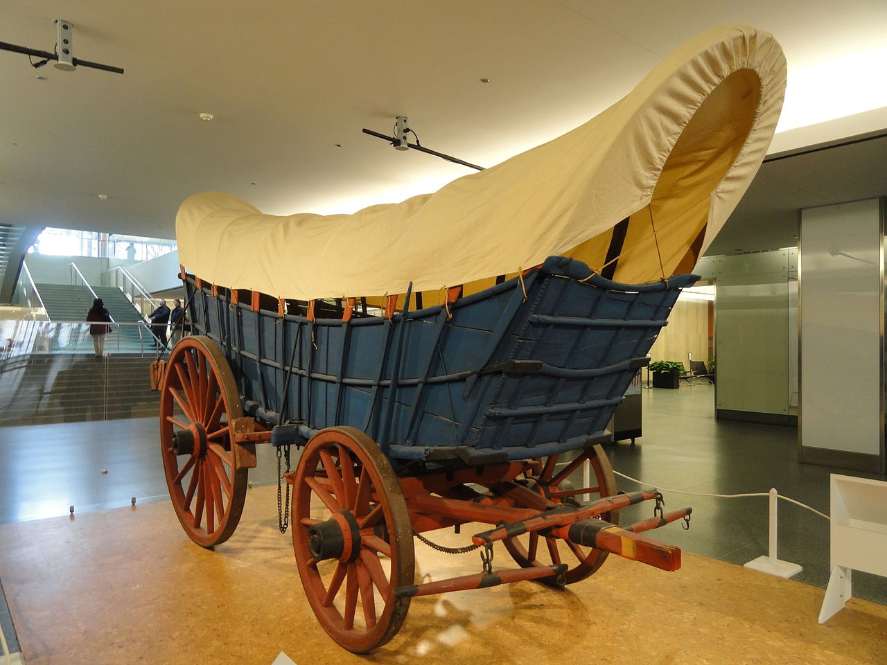 FileConestoga Wagon about 18401850  National Museum of American History  DSC06101JPG