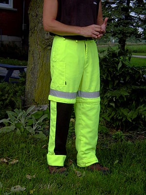 Convetible Ventilated Trousers shown with one ...