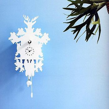 English: Contemporary cuckoo clock designed by...