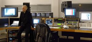 Video editor in digital linear suite. 2002.