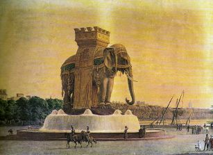 The Elephant of the Bastille, c. 1810