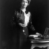 On Emmeline Pankhurst's Speech in New York, or a Militant Feminist at MSG