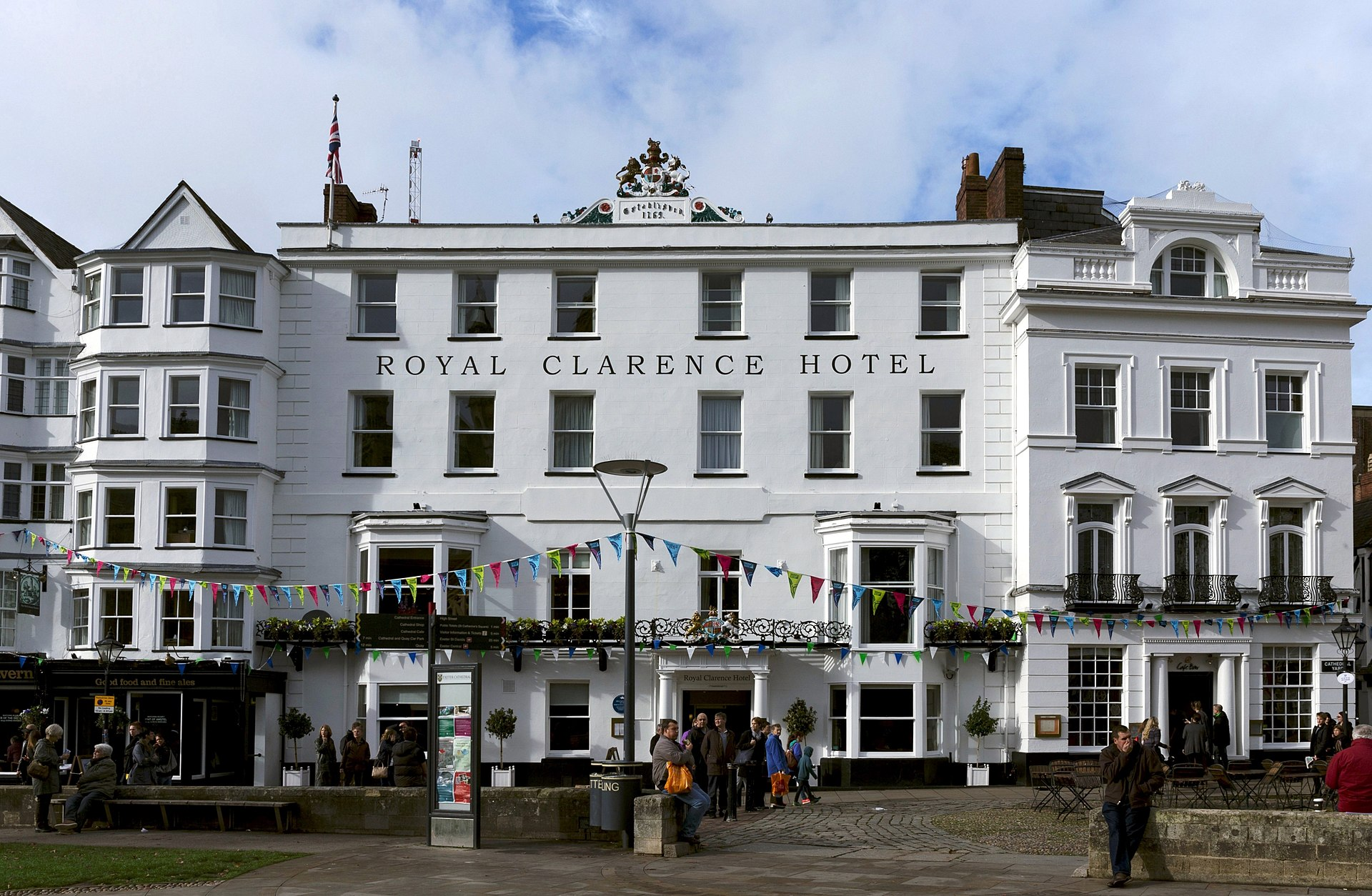 Royal Clarence Hotel  Wikipedia