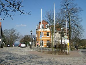 Deutsch: Ferch, Ansicht im Dorf (Gemeinde Schw...