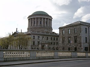 Four Courts, Dublin's main court building.