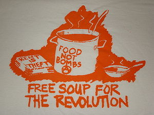 Food Not Bombs illustraion