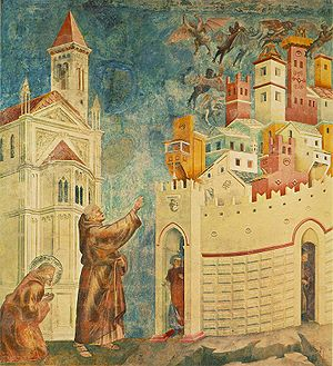 Giotto - Legend of St Francis - -10- - Exorcis...