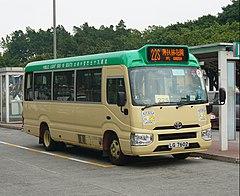 香港島專線小巴22線 - 維基百科。自由的百科全書