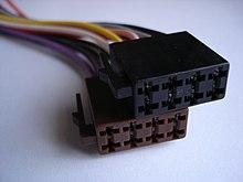 vectra b radio wiring diagram 2004 titan fuse box connectors for car audio wikipedia iso 10487 harness adapter edit