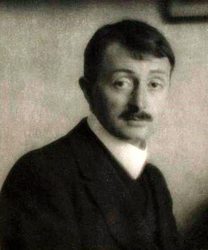 John Masefield, Hampstead, January 1st, 1913.