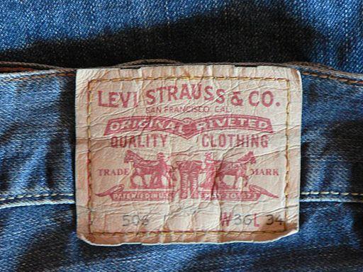 Levi's 506 label