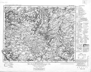 Luxemburg (Karte des Deutschen Reiches, 539. L...