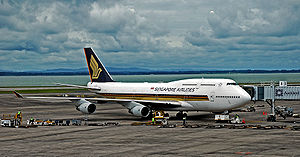 Singapore Airlines Boeing 747-412