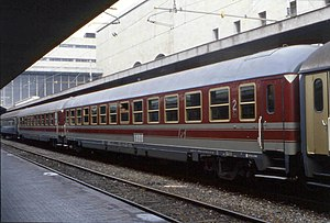 UIC-X-Wagen of the Trenitalia