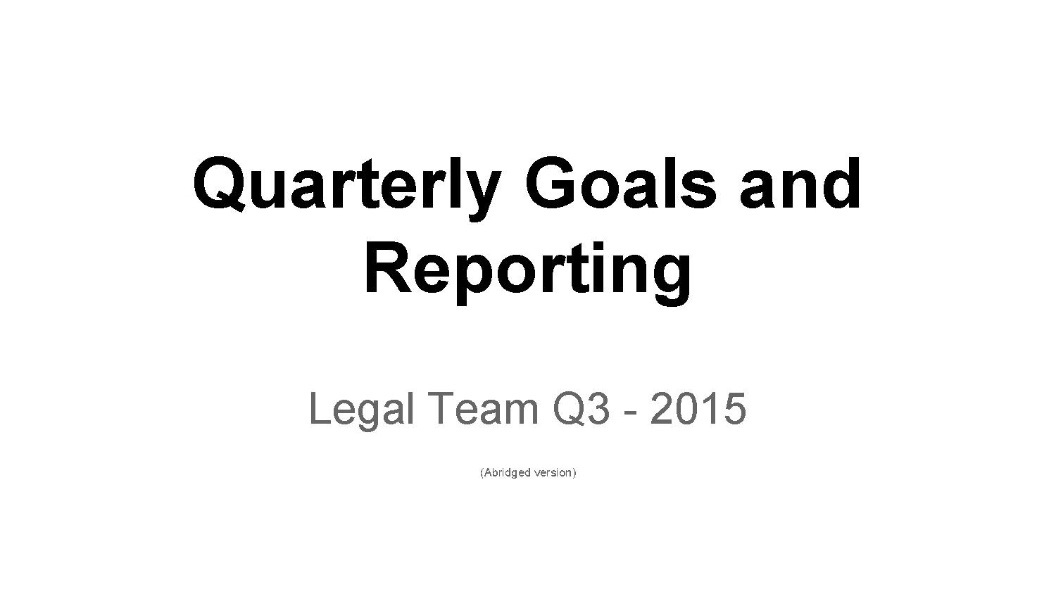 File Wmf Legal Quarterly Review Q3 15