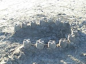 Sand castle, Tenerife.