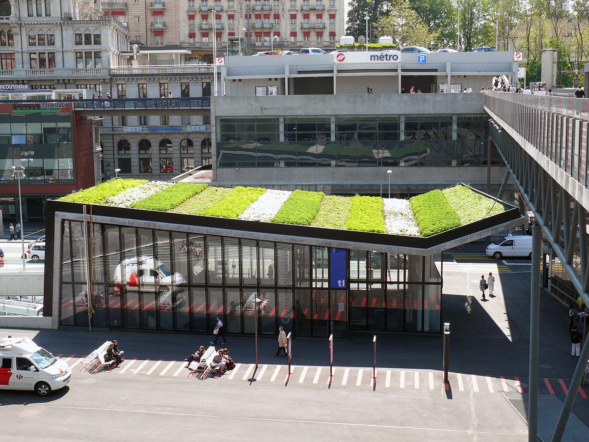 LausanneFlon mtro de Lausanne  Wikipdia