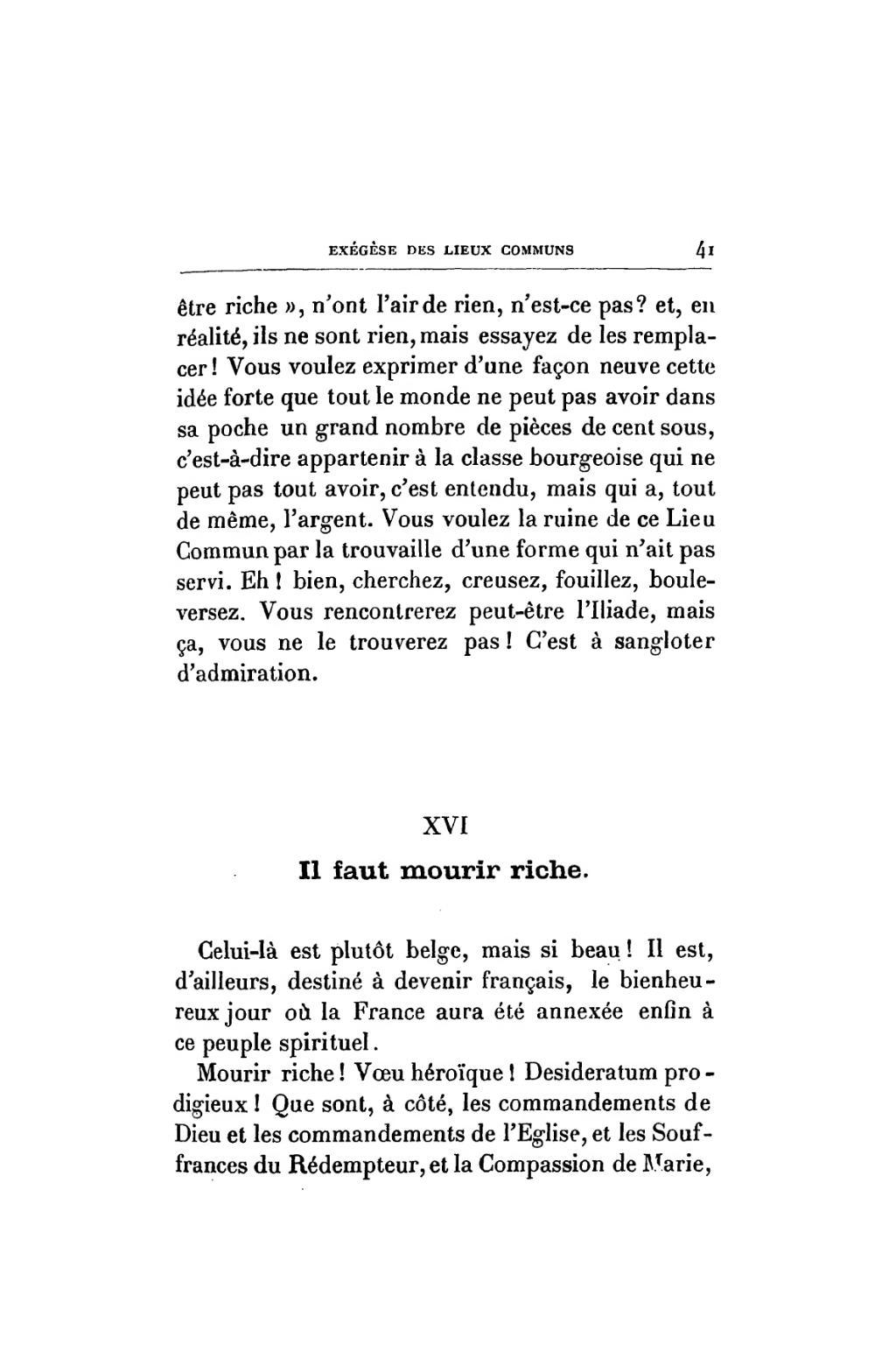 Mais Si Faut Il Mourir : mourir, Page:Bloy, Exégèse, Lieux, Communs,, Mercure, France,, 1902.djvu/43, Wikisource