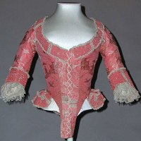 Silk Bodice from the 1770s