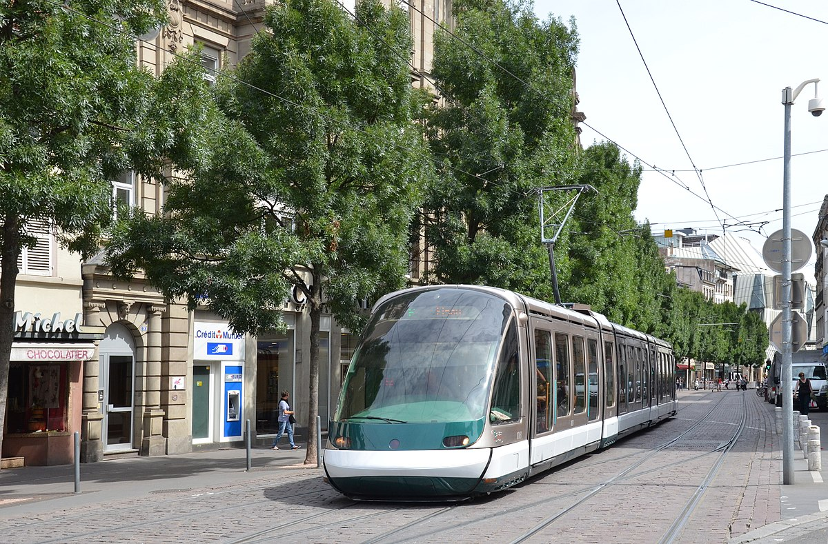 Ligne F du tramway de Strasbourg  Wikipdia