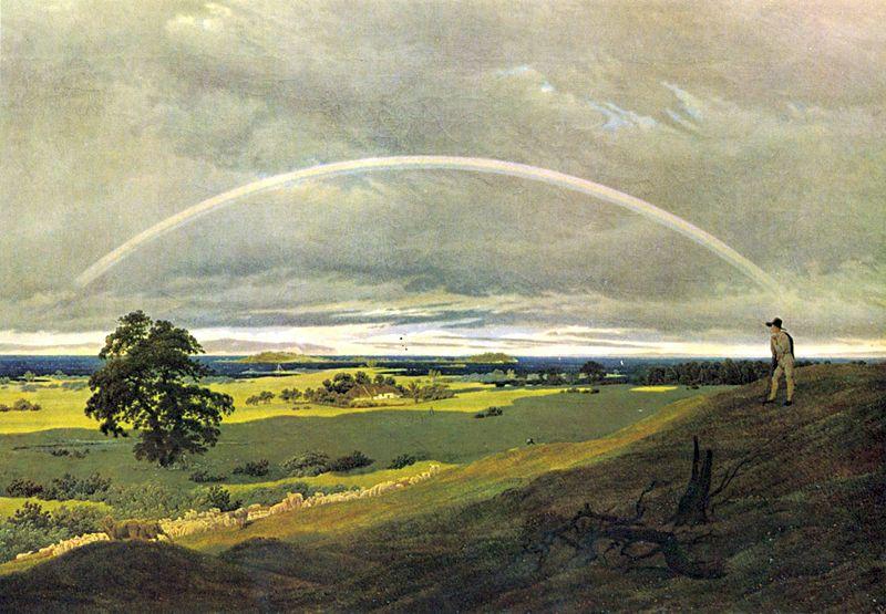 Rainbow_Caspar_David_Friedrich_paintingFrom Wikipedia Commons