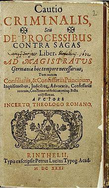 Cautio Criminalis  Wikipedia
