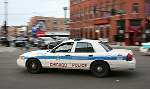 Chicago police car