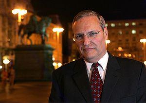 עברית: אפרים זורוף English: Efraim Zuroff is t...