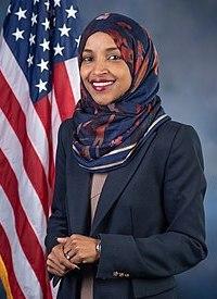 Ilhan Omar, official portrait, 116th Congress.jpg