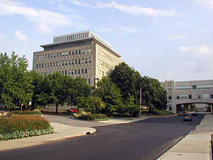Kelley School of Business on the campus of Ind...