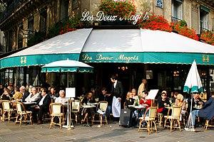 "English: Café ""les deux magots"" Pari..."