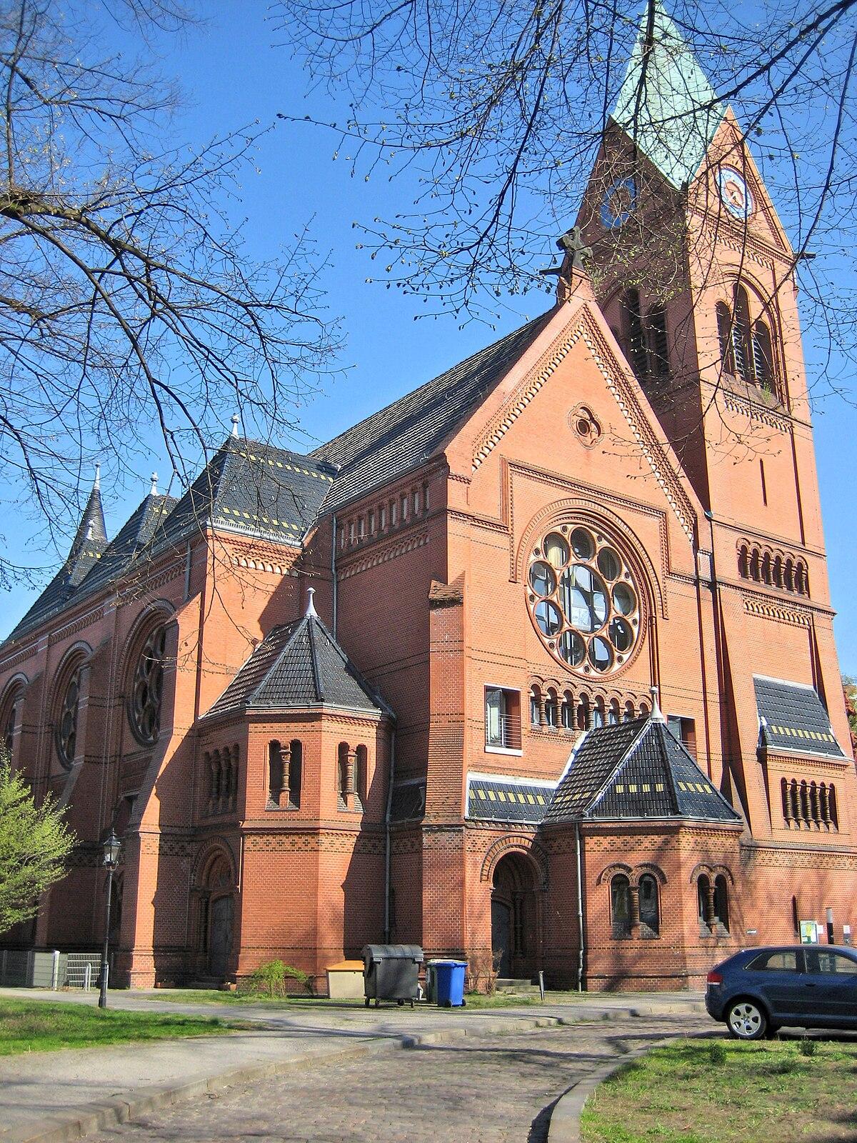 Lutherkirche BerlinSpandau  Wikipedia