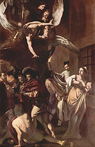 """Caravaggio, """"Le sette opere di misericordia"""""""