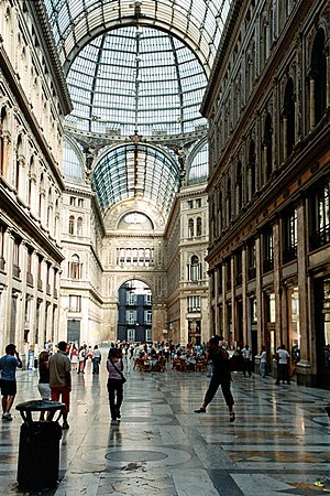 Galleria Umberto I, Napoli, Italy