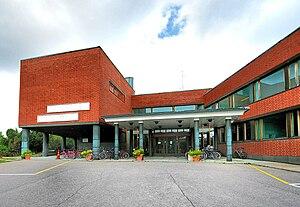 English: Aalto University Otaniemi Campus Libr...