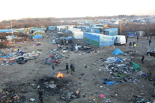 Overview of Calais Jungle