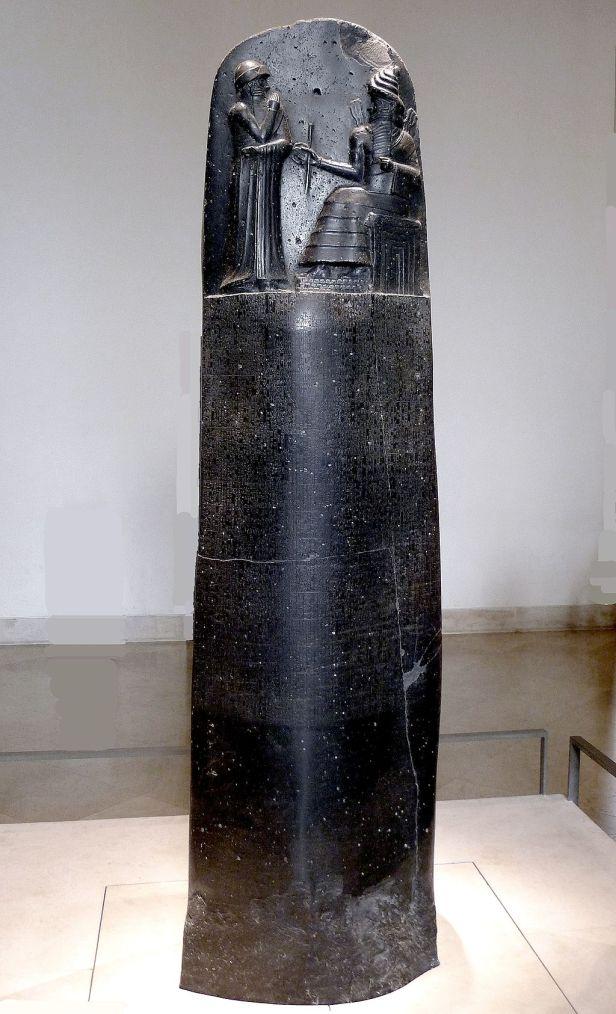 P1050763 Louvre code Hammurabi face rwk