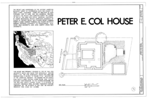 File:Peter E. Col House, 1163 Martin Avenue, San Jose