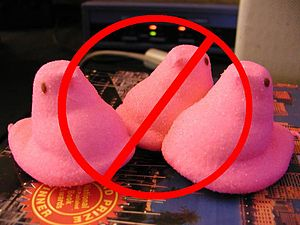 Pink peeps banned