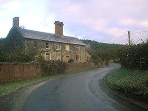 English: Pipe Aston Farmhouse The original par...