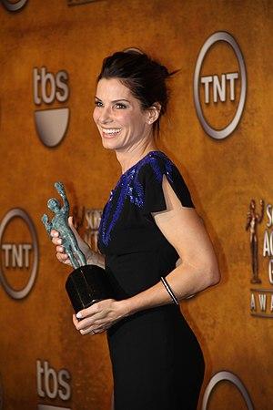 Sandra Bullock, winner of the 2010 SAG award f...