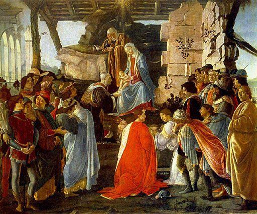 Sandro Botticelli Adoration of the Magi 2