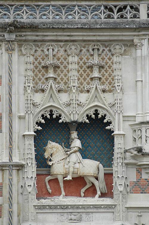 SchlossBloisReiterstatue