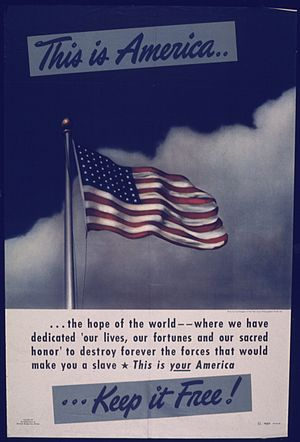 THIS IS AMERICA... THE HOPE OF THE WORLD - NAR...