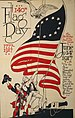 140th US Flag Day poster. 1777-1917. The birth...
