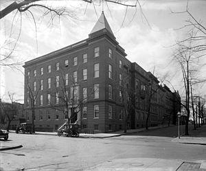 Georgetown University Hospital building, ca. 1910s