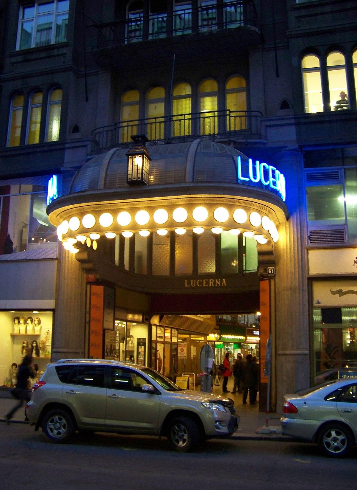 Lucerna Music Bar  Wikipedia