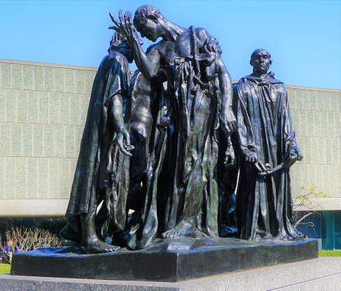 """The Burghers of Calais"" by Auguste Rodin"