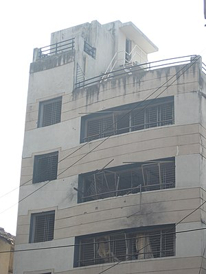Nariman House, the house that the terrorists i...