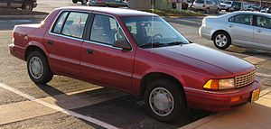 1993-1995 Plymouth Acclaim photographed in USA...